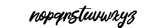 This July Font LOWERCASE