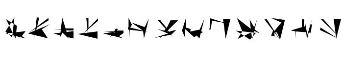 Tholian Regular Font UPPERCASE