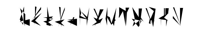 Tholian Regular Font LOWERCASE