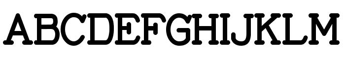 Thomas Elegant Font UPPERCASE