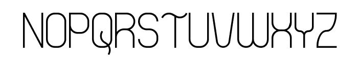 Thong Font UPPERCASE