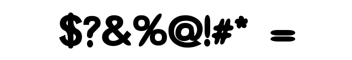 Thorazine Font OTHER CHARS
