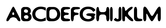 Thorazine Font UPPERCASE