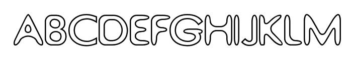 Thorazone Font UPPERCASE