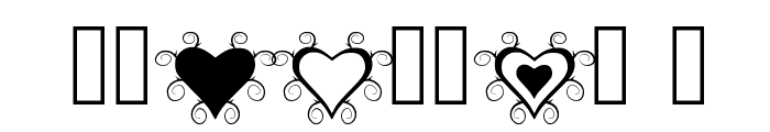 Thorn_Heart Font OTHER CHARS