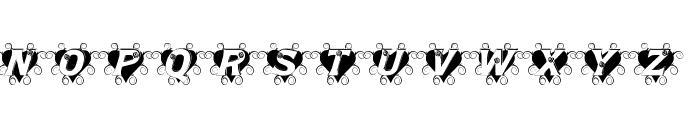 Thorn_Heart Font UPPERCASE
