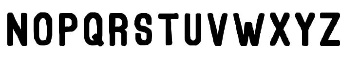 Thorne Normal Font UPPERCASE