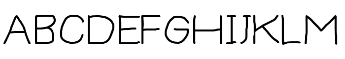 Thoroughbred Font UPPERCASE