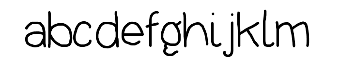Thoroughbred Font LOWERCASE