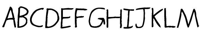 Thors Thunderfont Font UPPERCASE