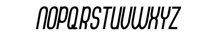 Thorup Sans Bold Italic Font UPPERCASE