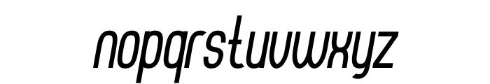 Thorup Sans Bold Italic Font LOWERCASE