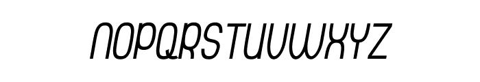 Thorup Sans Small Caps Italic Font UPPERCASE