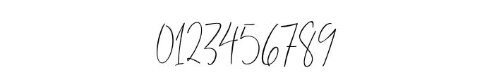 ThousandScript Font OTHER CHARS