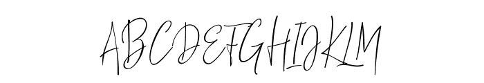 ThousandScript Font UPPERCASE