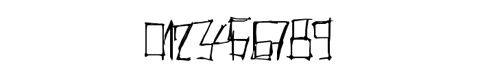 ThrashParty Font OTHER CHARS