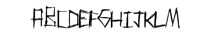 ThrashParty Font UPPERCASE