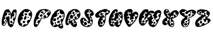 Thready Bear Font UPPERCASE