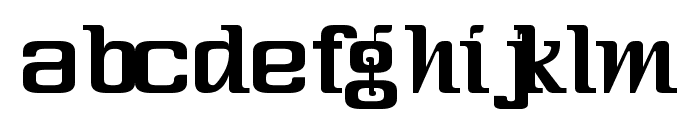 Three-Sixty Condensed Font LOWERCASE