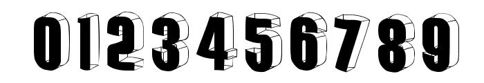 ThreedimensionalRound Font OTHER CHARS