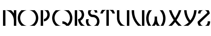 ThresholdCP Font UPPERCASE