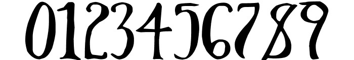 Throrian Commonface Font OTHER CHARS