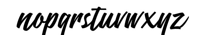 ThrottlesDemo Font LOWERCASE