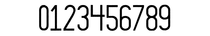 Thruster Regular Font OTHER CHARS