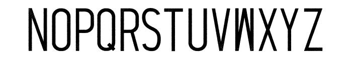 Thruster Regular Font LOWERCASE