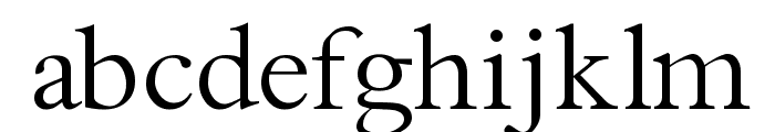 Thryomanes Normal Font LOWERCASE