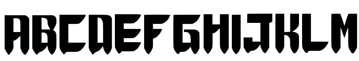 Thunder Force Wannabe ver.1.1 Medium Font UPPERCASE