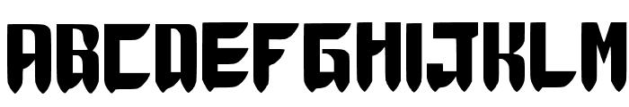 Thunder Force Wannabe ver.1.1 Medium Font LOWERCASE