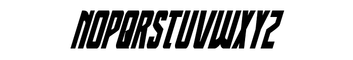 Thunder-Hawk Drop Condensed Italic Font LOWERCASE