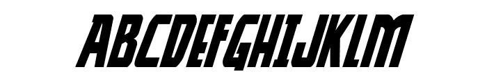 Thunder-Hawk Italic Font LOWERCASE