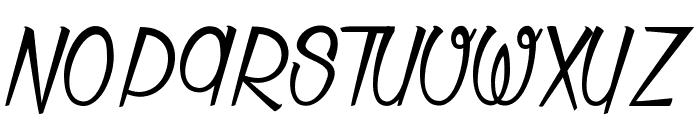Thunder Strike Font UPPERCASE