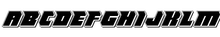 Thunder Titan Punch Font LOWERCASE