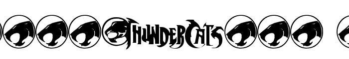 ThunderCats Font OTHER CHARS
