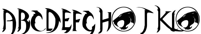 ThunderCats Font UPPERCASE