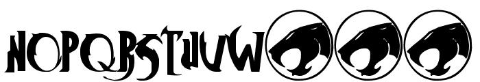 ThunderCats Font LOWERCASE