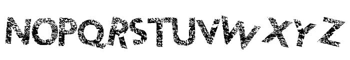 ThunderCrack Font UPPERCASE