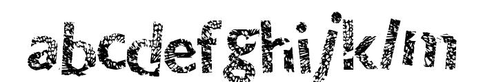ThunderCrack Font LOWERCASE