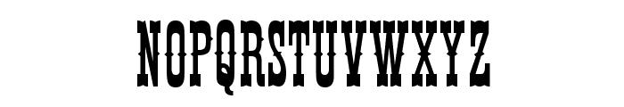 Thunderbird Font UPPERCASE