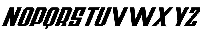 Thunderbold Demo Font UPPERCASE