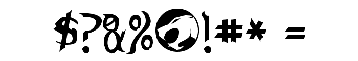 Thundercats Normal Font OTHER CHARS
