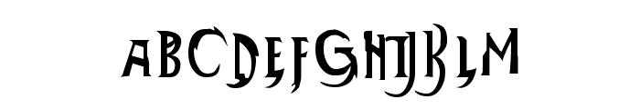 Thundercats Normal Font LOWERCASE