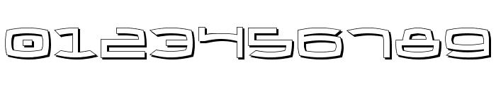 Thundergod II Shadow Font OTHER CHARS
