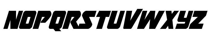 Thunderstrike Condensed Font UPPERCASE