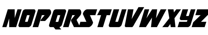 Thunderstrike Condensed Font LOWERCASE