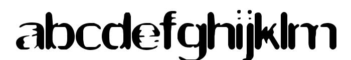 Thwart BRK Font LOWERCASE
