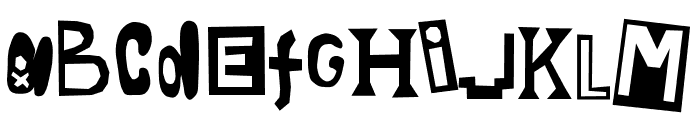 Thy Souls Consumed Font UPPERCASE